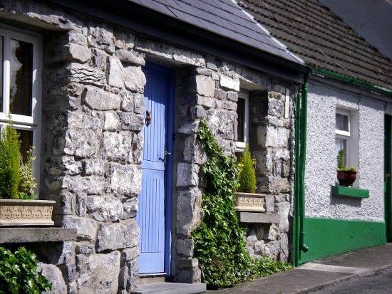 """Old stone house in Connemara"""