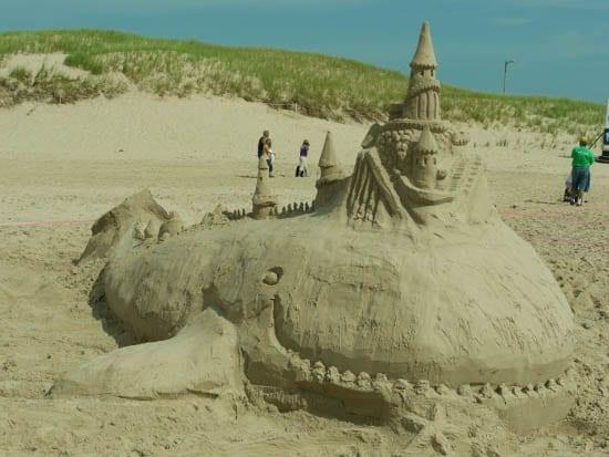 'sand castle'