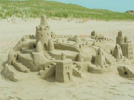 'sand castles'