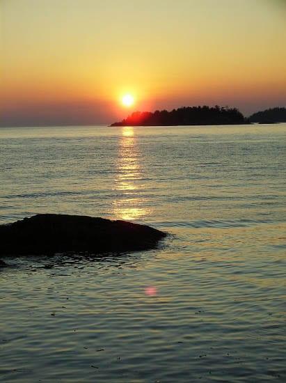 """Sunset from Bowen Island"""