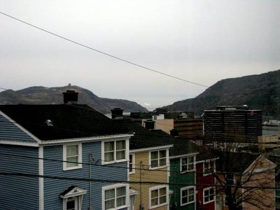 """Colourful St. John's Houses - Newfoundland"""