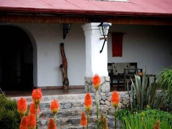 """""""Inner courtyard at the Estancia de las Carreras"""""""