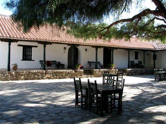 """""""Courtyard at the Hacienda de Molinos"""""""