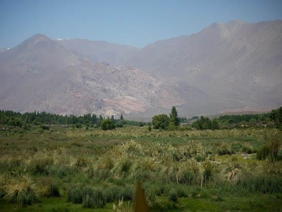 """""""Scenery near the Chilean border'"""