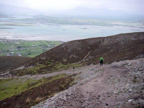 """Croagh Patrick hike"""