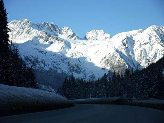 """Inspiring mountain scenery"""