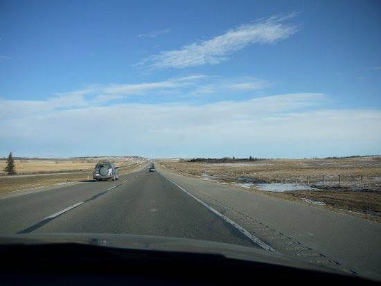 """The road into Calgary"""