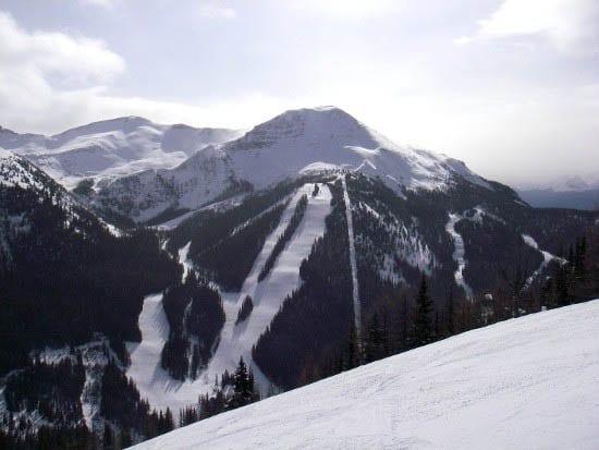 """Lipalian Mountain area of Lake Louise"""