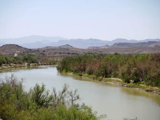 """""""A view of the Rio Grande"""""""