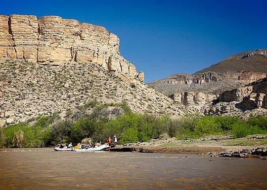 """Rio Grande rafting"""