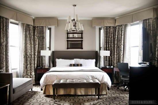 """""""Copley Square Hotel bedroom"""""""