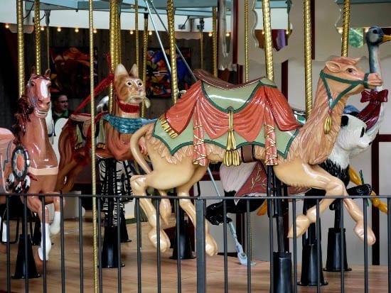 """Children's Pavilion and Rose Carousel"""
