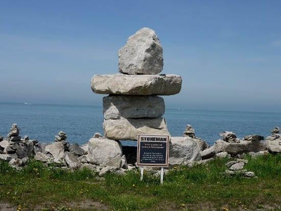 """Stoneman - A Stone Testament to Island Perseverance"""