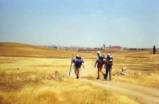 """Walking into Salamanca"""