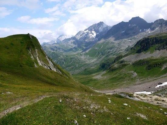 """Near the Col du Bonhomme"""