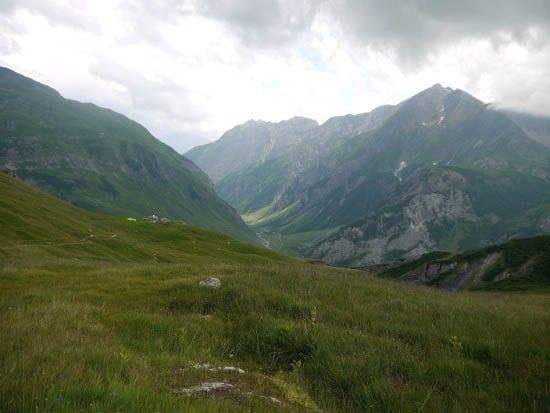"""""""The steep descent to Les Chapieux"""""""