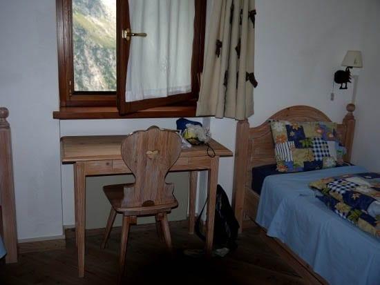 """""""A private room in the Rifugio Bonetti"""""""
