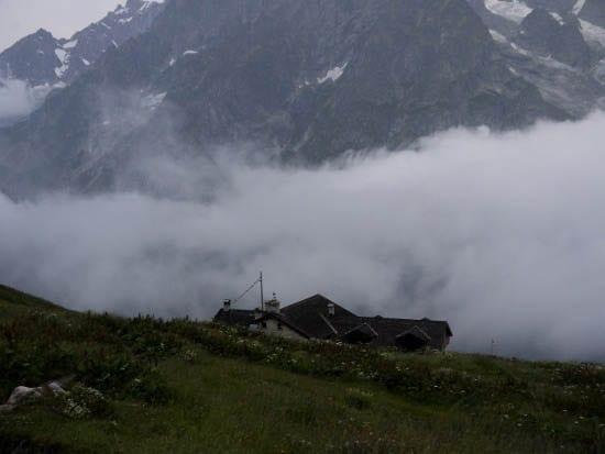 """""""Rifugio Bonatti - with the clouds coming in"""""""