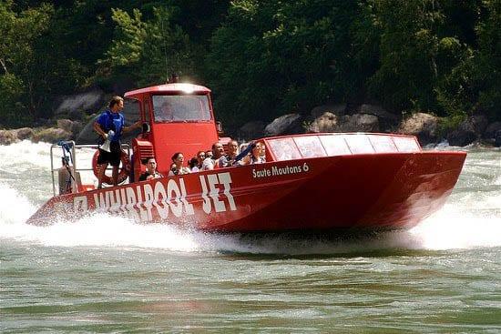"""Niagara River jet boat"""