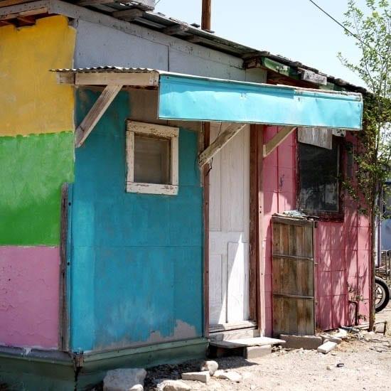 """Colourful Marathon dwelling"""