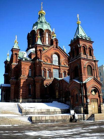"""Church with Russian design influences"""