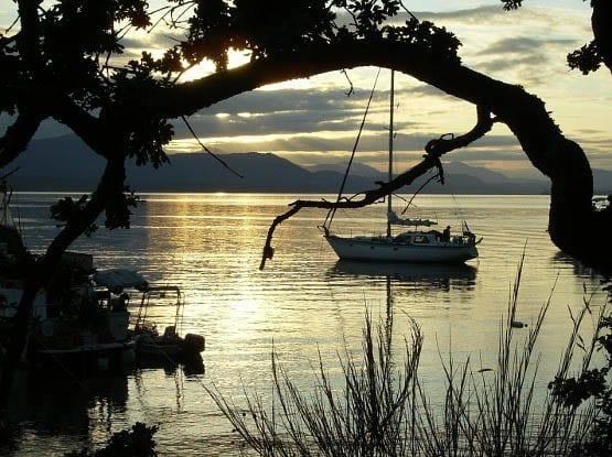 """Sunset in the Gulf Islands"""
