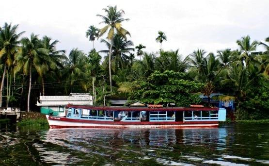 """""""Kerala's famous backwater houseboats"""""""
