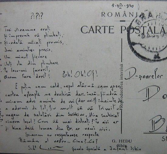 """Hand write a postcard"""