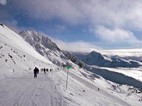 """""""Skiing at Blackcomb"""""""
