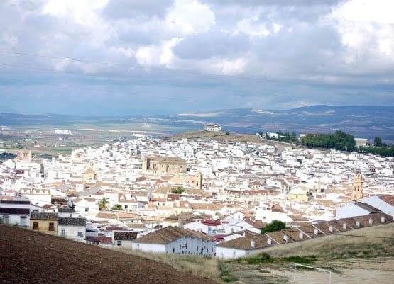"""The white village of Antequera"""