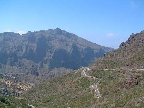 """The roads of Tenerife"""