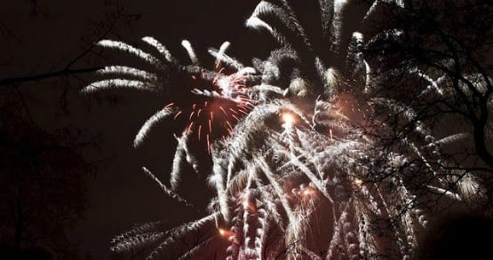 """Fireworks on New Year's Eve"""