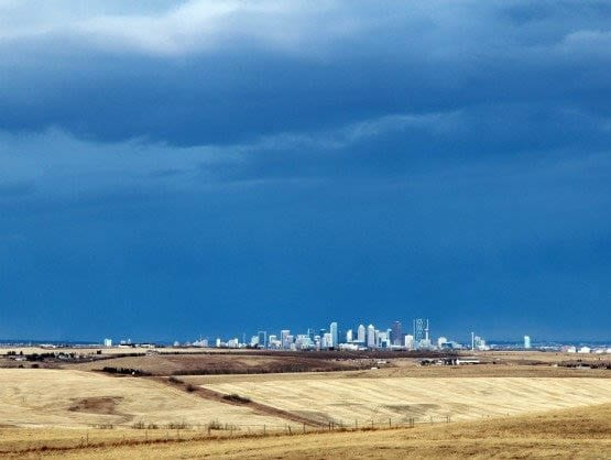 """A view of downtown Calgary"""