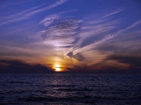 """A Lake Superior sunset"""
