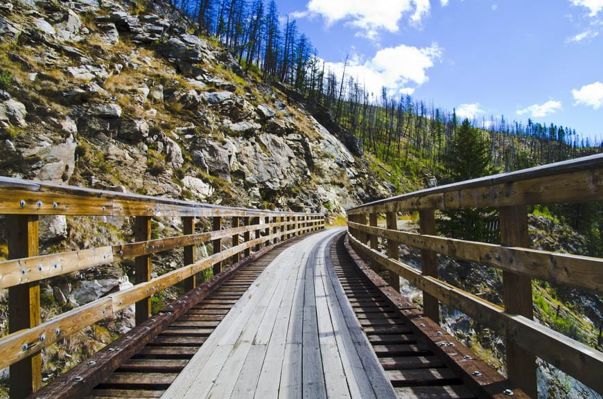 Biking the Kettle Valley Railway in the Okanagan