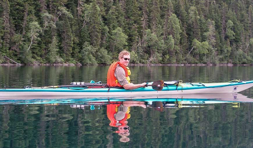 Kayaking the Bowron Lakes