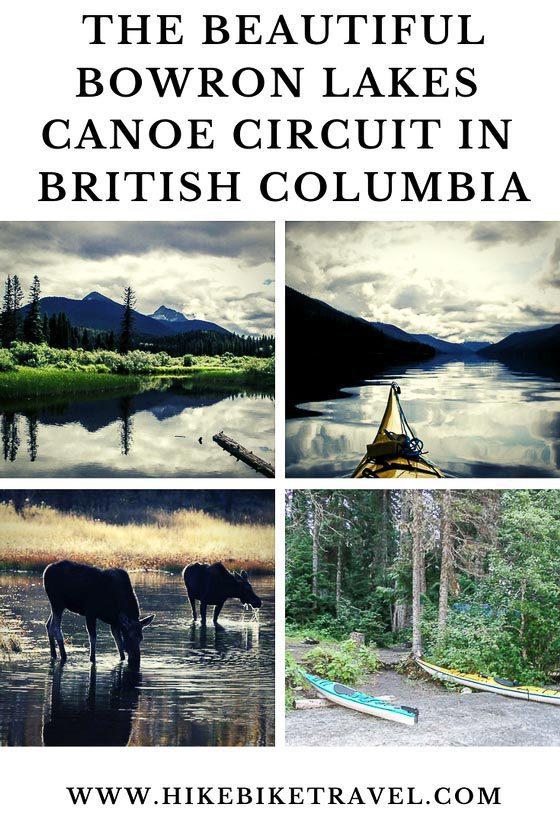 The beautiful Bowron Lakes Canoe Circuit in British Columbia