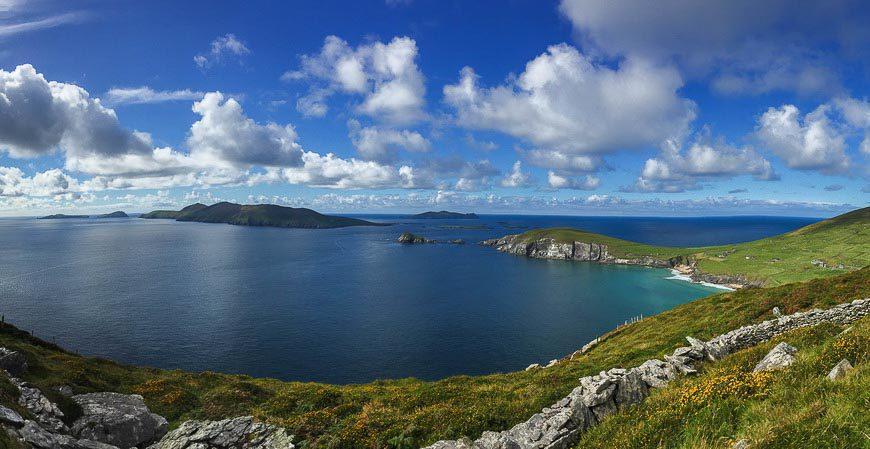 The Blasket Islands in Ireland