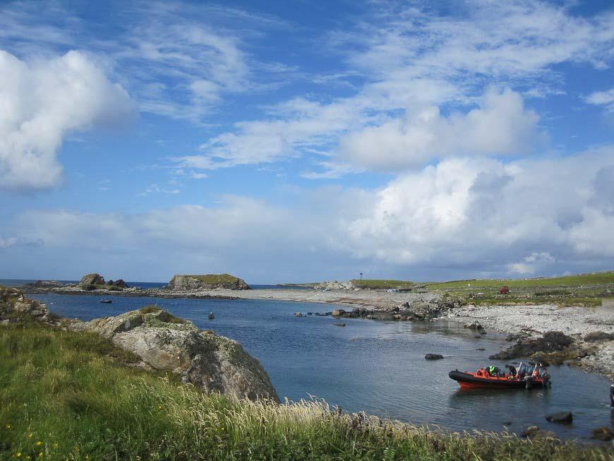 Inishbofin Island in Ireland