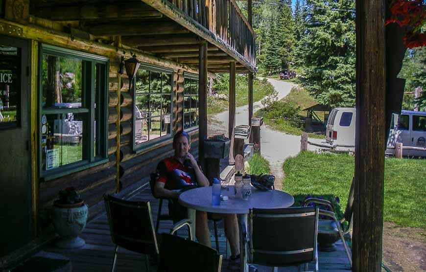 Chute Lake Resort on the Kettle Valley Railway