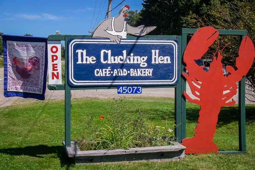 The Clucking Hen seasonal restaurant