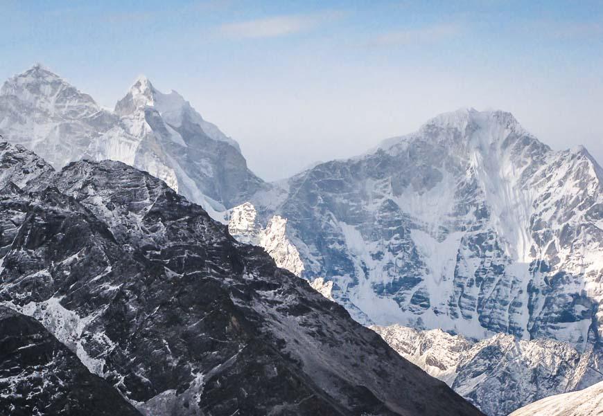 Mt Everest - a heart stirring sight