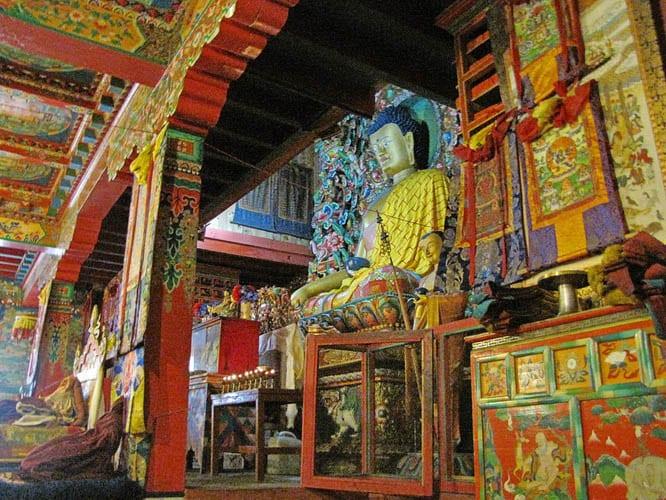 Interior of a monastery