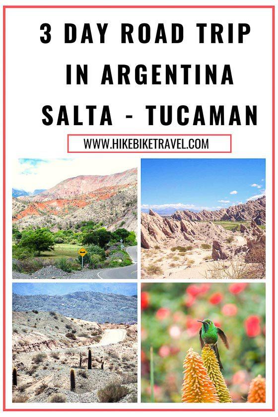 A 3 day road trip in Argentina - Salta to Tucuman