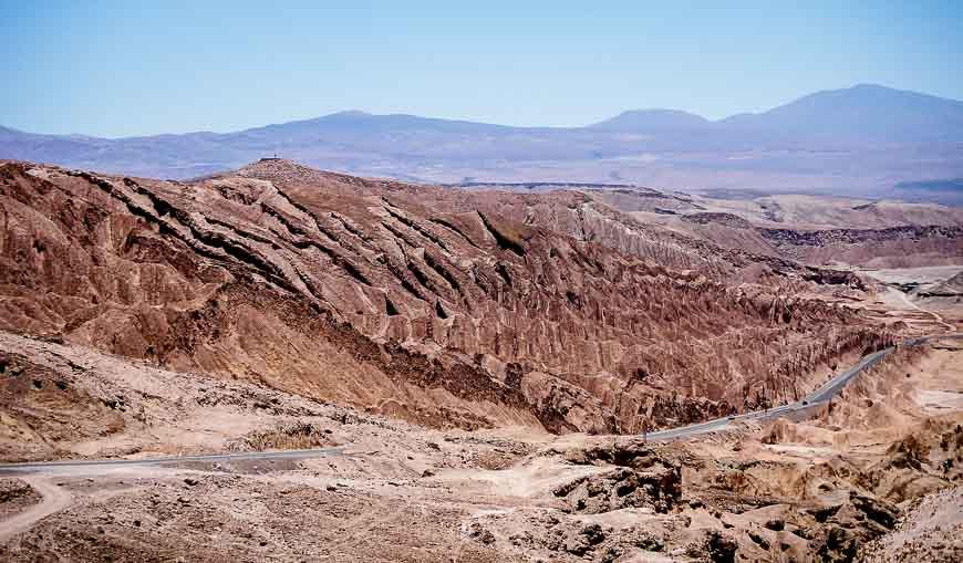 Dinosaur looking rocks in Moon Valley Chile