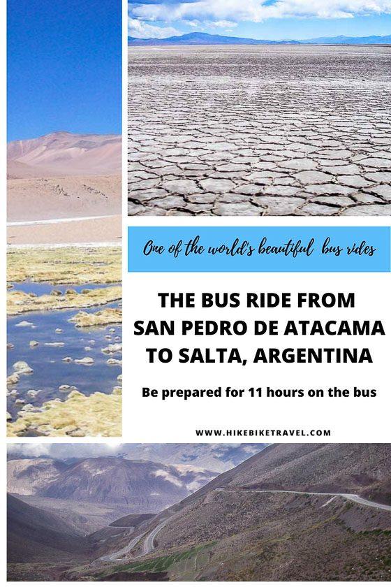 The spectacular bus ride from San Pedro de Atacama to Salta, Argentina
