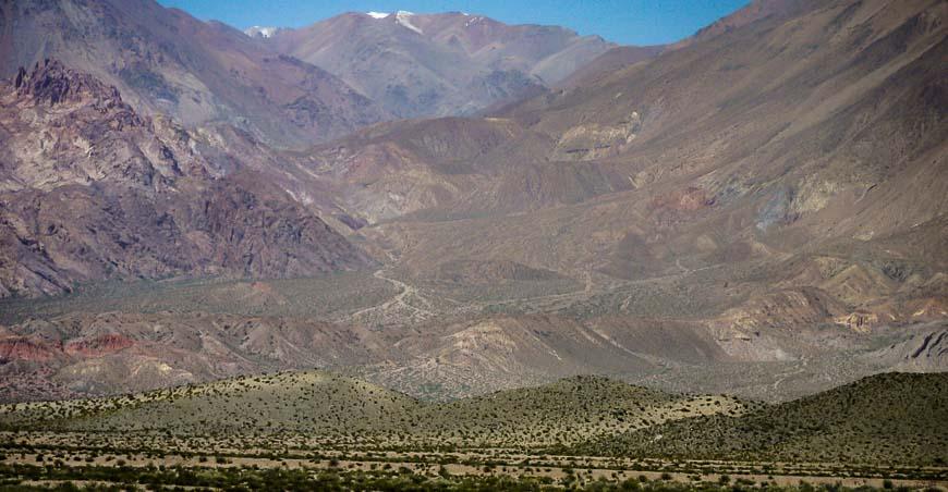 Scenery near the Chilean border