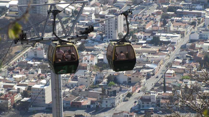 Mount San Bernardo cable car