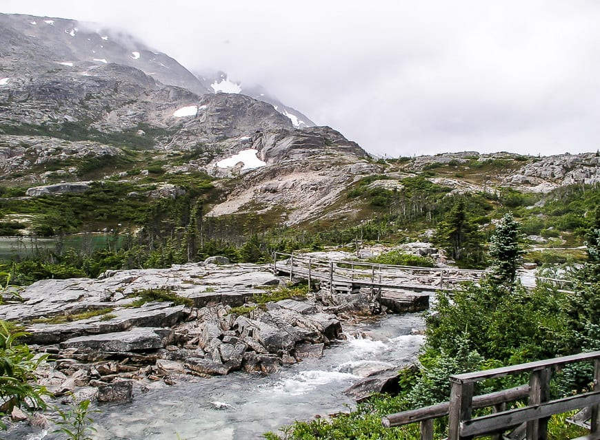 Beauty on the Canadian side of the Chilkoot Trail
