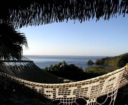 """Hammock view of the Pacific Ocean"""